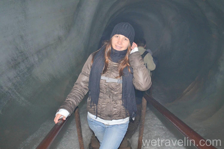 Eisriesenwelt. ледяная пещера в Австрии