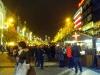 Вацлавская площадь в Праге на рождество