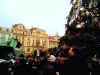 площадь в Праге на рождество