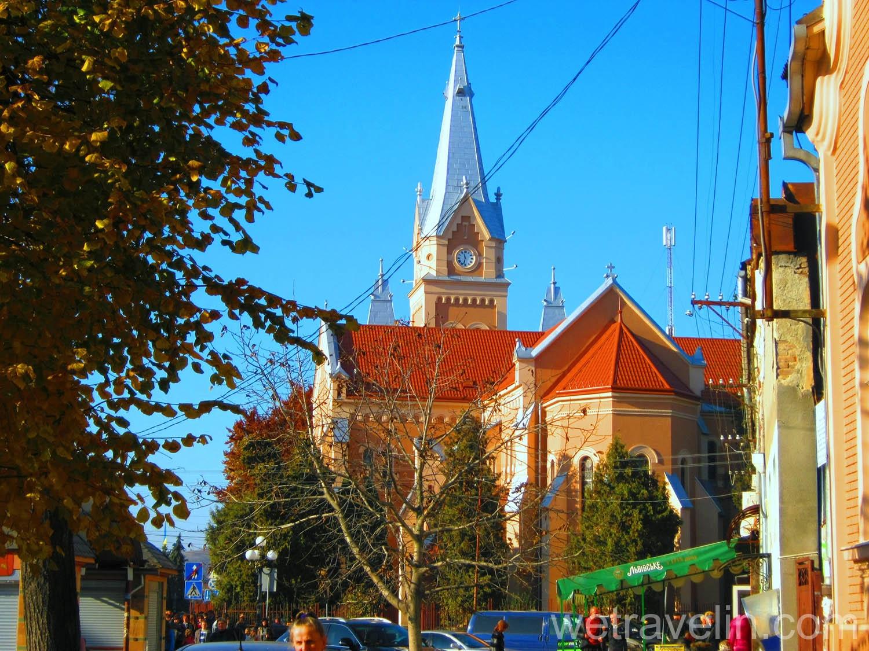 улицы Мукачево