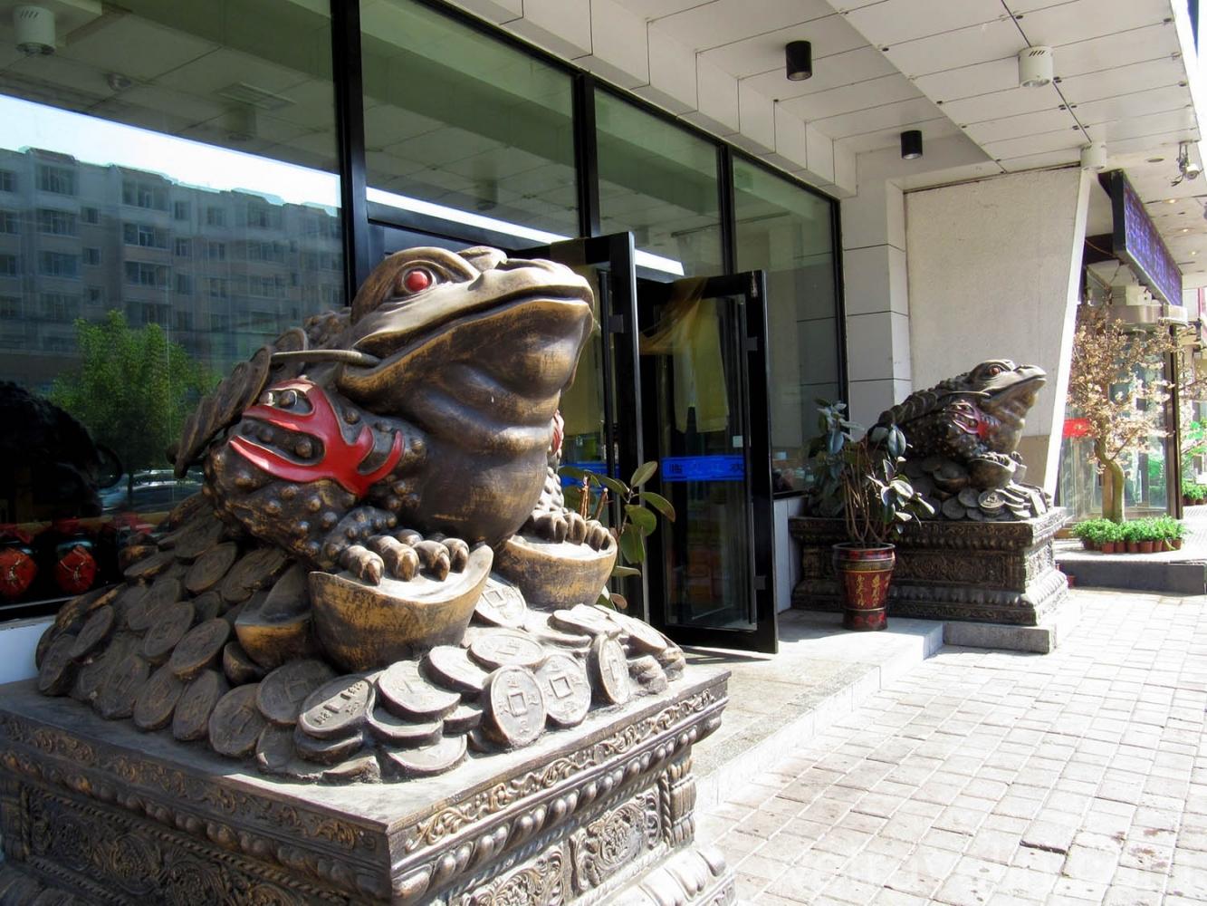 вход в отель в Чанчуне