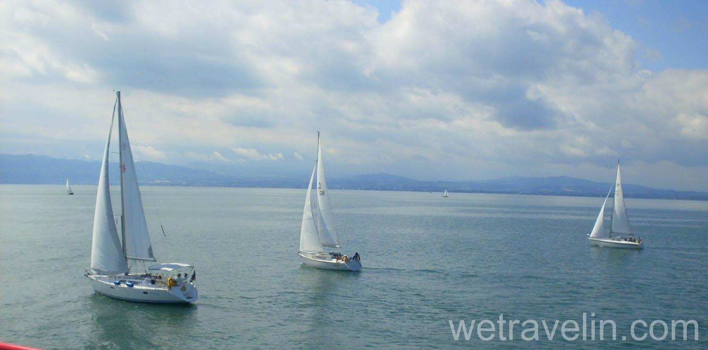 яхты на боденском озере