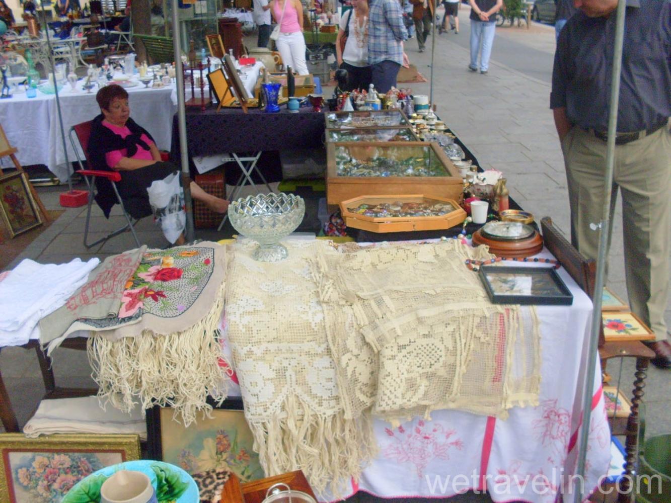 блошиный рынок в Страсбурге
