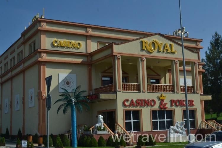 казино на границе Германии с Чехией