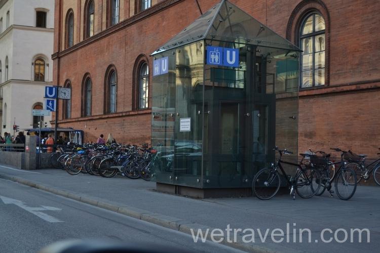 парковка в Мюнхене