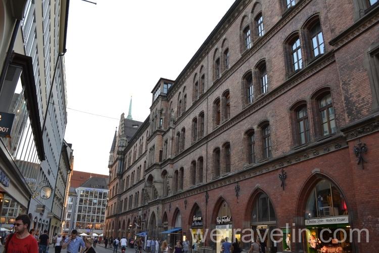 торговые улицы в Мюнхене