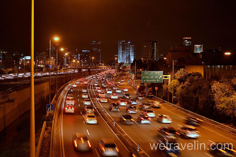 дороги Тель-Авива