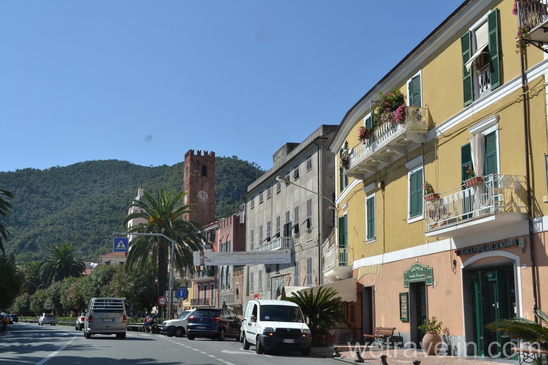 дорога от Генуя до Монако