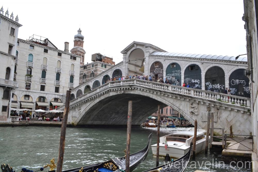 мост реальто в Венеции