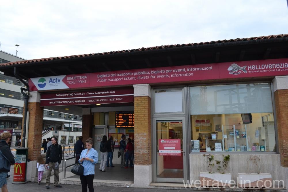 кассы где можно купить билет на общественный транспорт в венеции