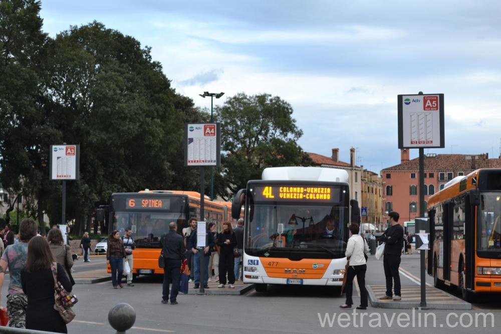 автобусы в венеции