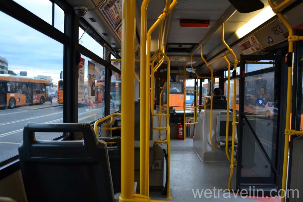 автобус в венеции