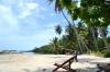 пляж отеля coral beach на острове ко тан