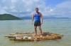 готовый плот на острове Тан