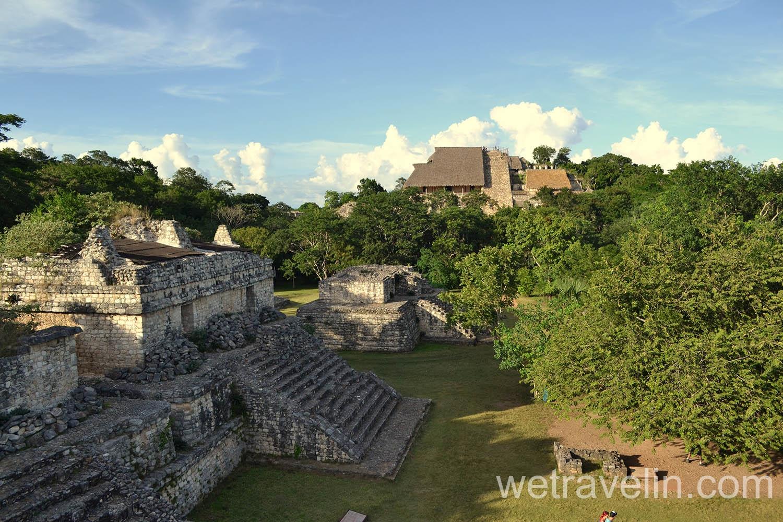 пирамиды майя Эк Балам
