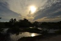 закат в Мексике
