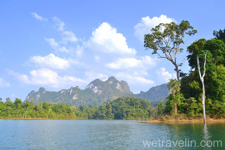 озеро Чео лан  в лучах заката