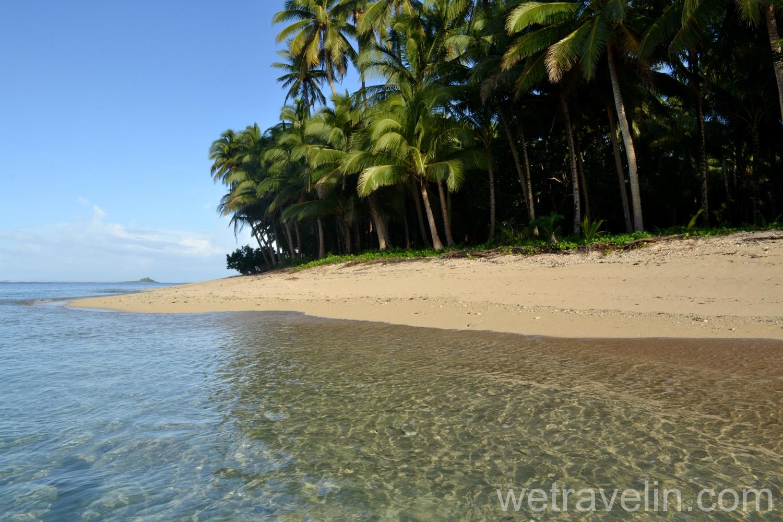 пляж в Санта Фе. Сиаргао