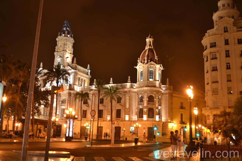 вечерняя Валенсия