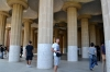 Зал 100 колон в парке Гуэль