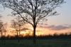 закат в заповеднике Гайчур