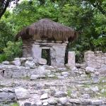 Руины майя в Playacar